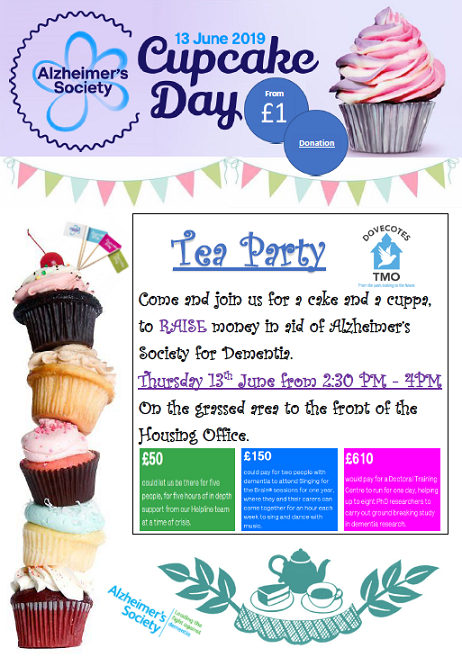 Cupcake Day 2019 for Alzheimer's Society