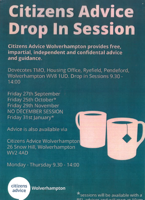 Citizens Advice Dates