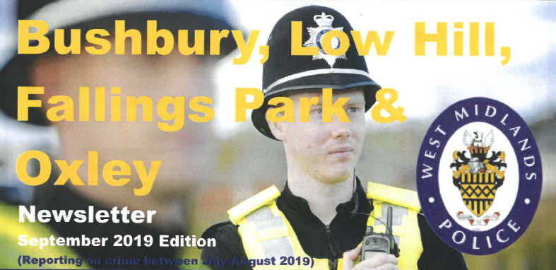 Take a look at the local Police newsletter – September 2019