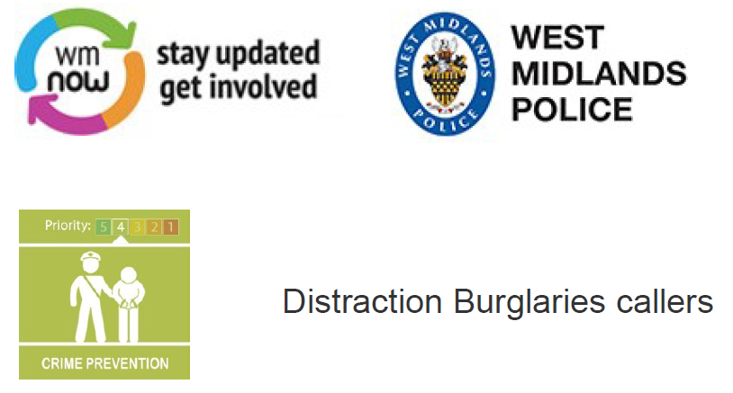 Distraction Burglaries Callers
