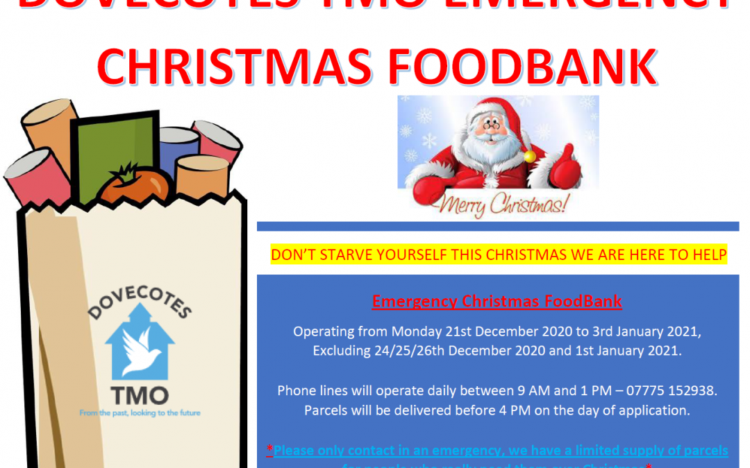 EMERGENCY CHRISTMAS FOODBANK